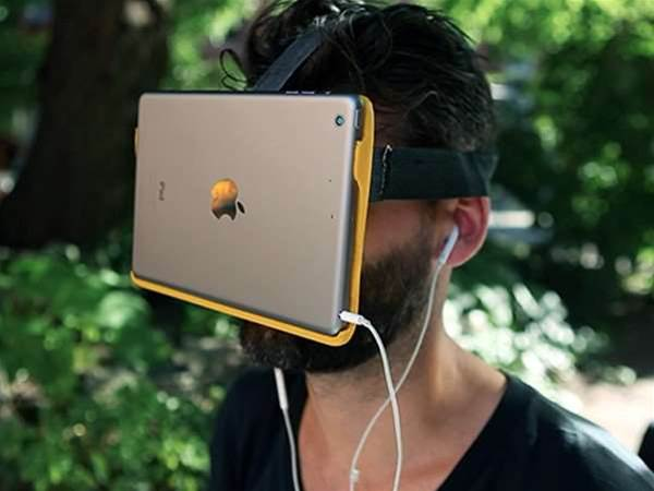 Screw real life, let's just strap iPads to our faces