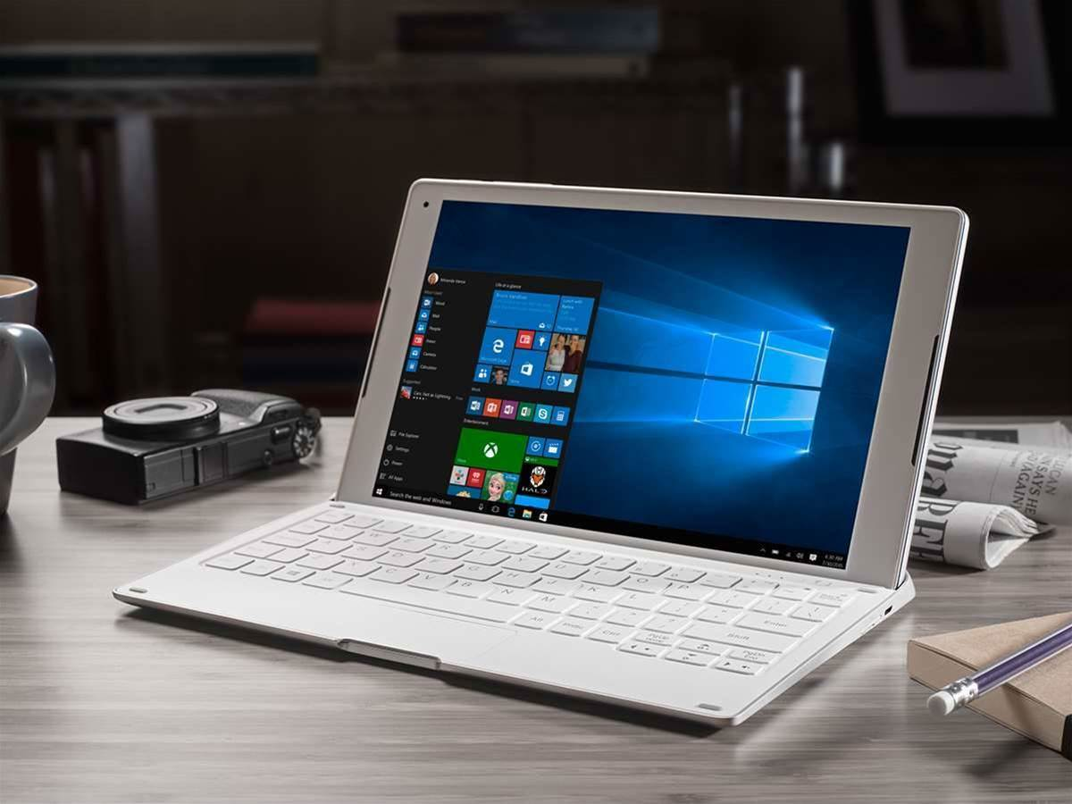 Alcatel + Windows = PLUS 10 hybrid laptop