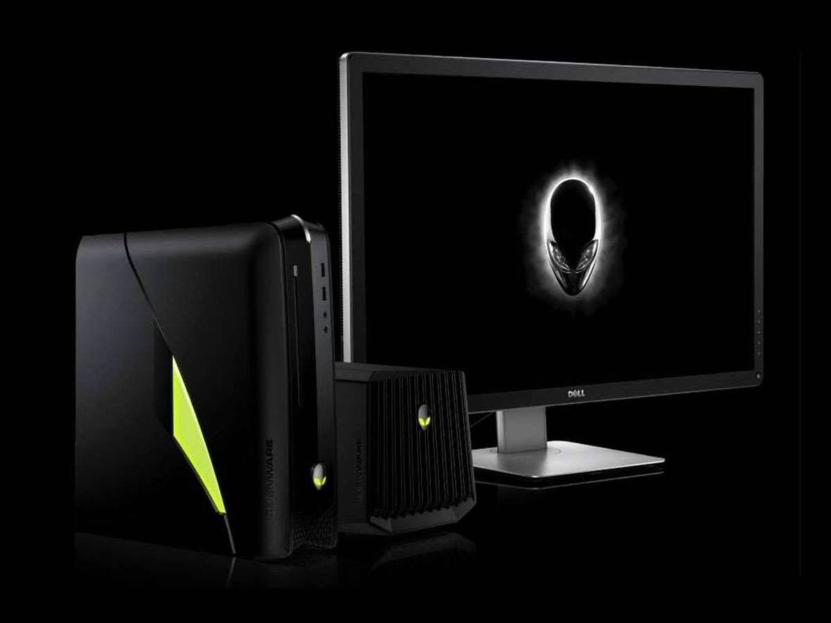 Alienware refreshes gaming PC and laptop range
