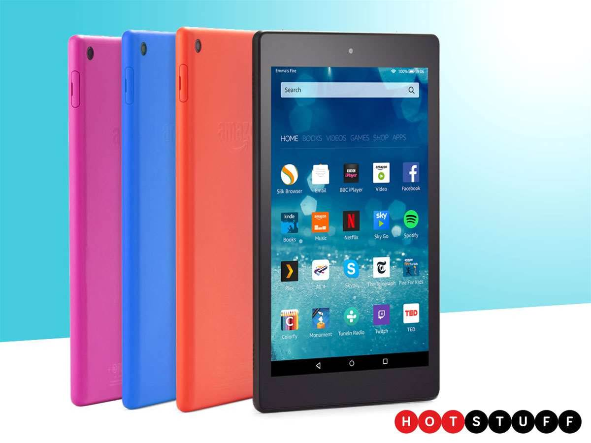 New Amazon Fire HD 8 provides tablet thrills for a low, low price