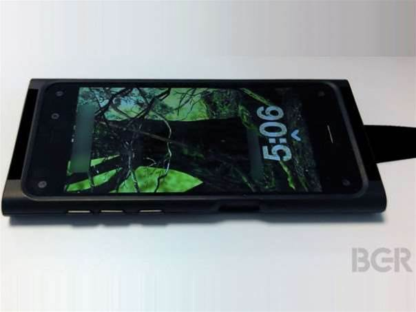 Amazon's smartphone: six cameras and a 3D screen