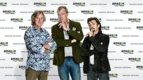 Jeremy Clarkson moves to Amazon Prime