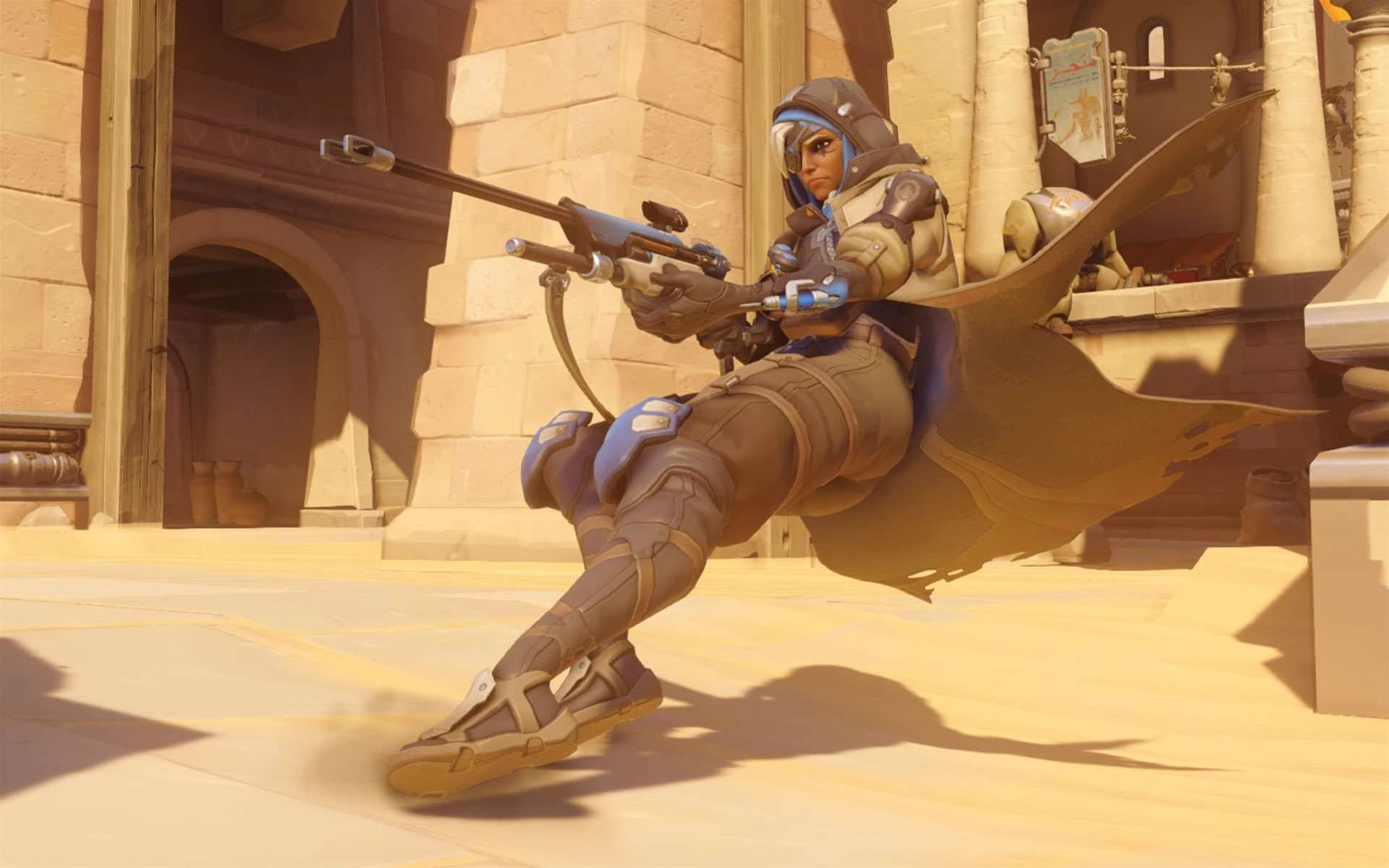 New Overwatch patch being tested, included new support character, Ana