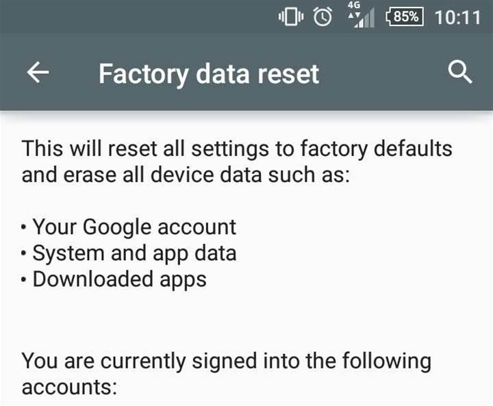 Millions of Android phones don't completely wipe data