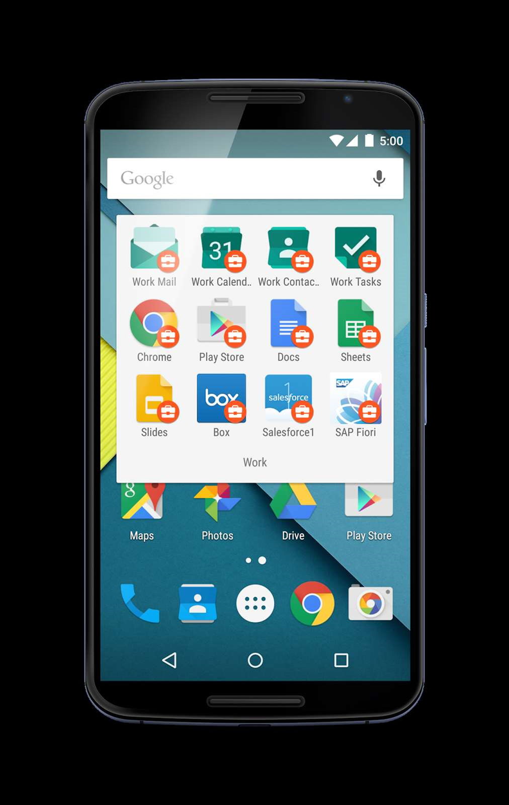 Android for Work lands on Google Play