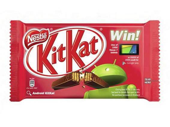 Key Lime Pie out, KitKat in, as the next Android OS gets a new name