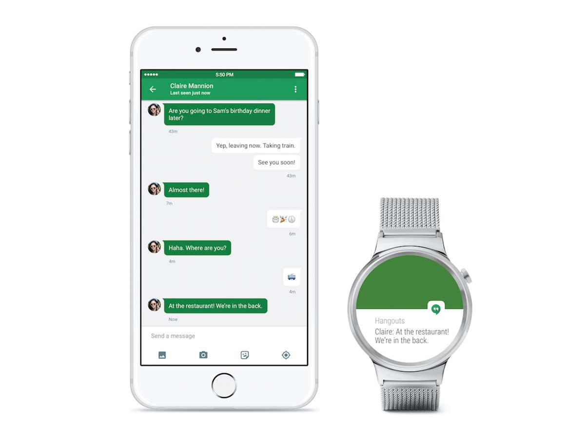 Some Android Wear watches now work with iPhones