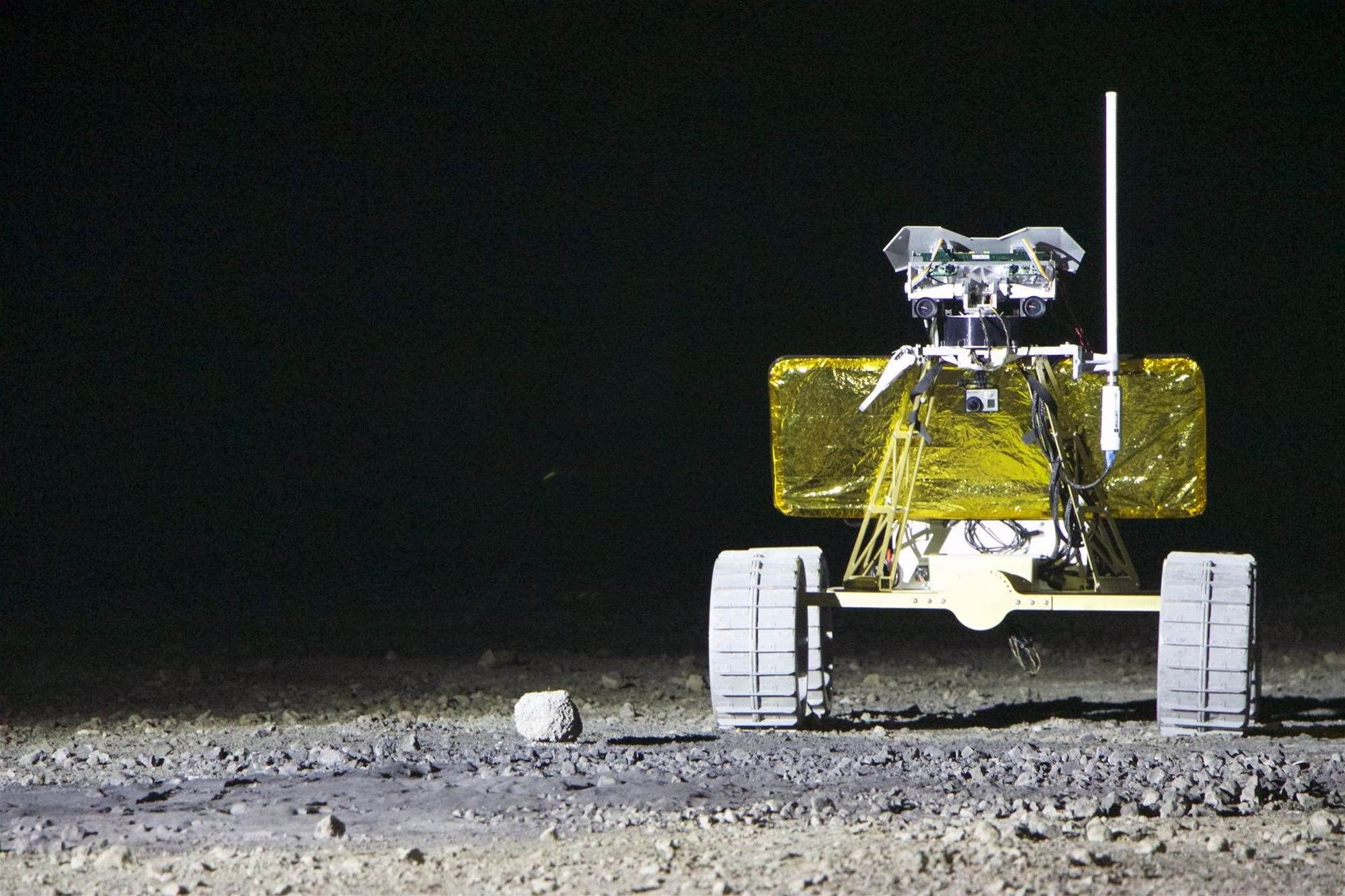 Moon Rover 'Andy' Takes Home Two XPrize Milestone Awards, Totaling $750,000