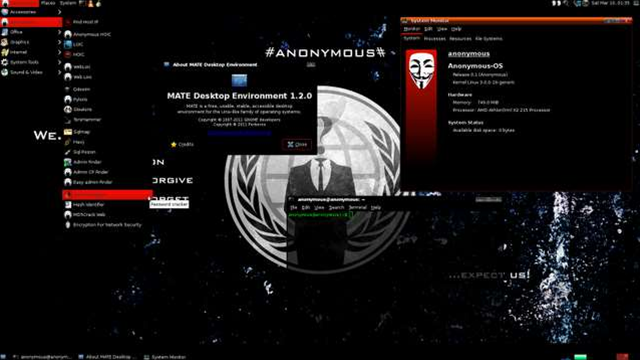 Anonymous operating system 'laced with trojans'