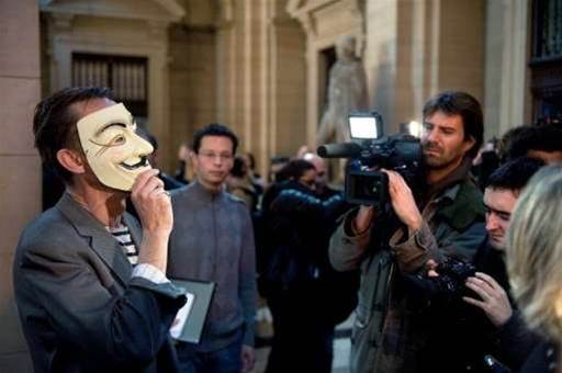 Anonymous raises havoc with UK Government