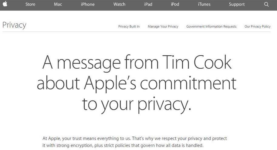 Apple blocks govt data requests with iOS 8