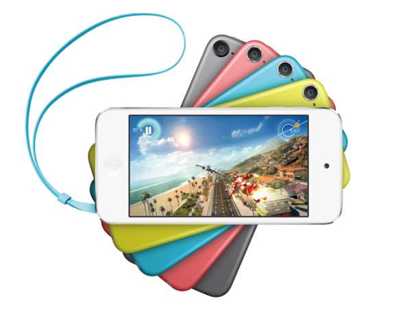 Apple's new 16GB iPod Touch launches in four new colours