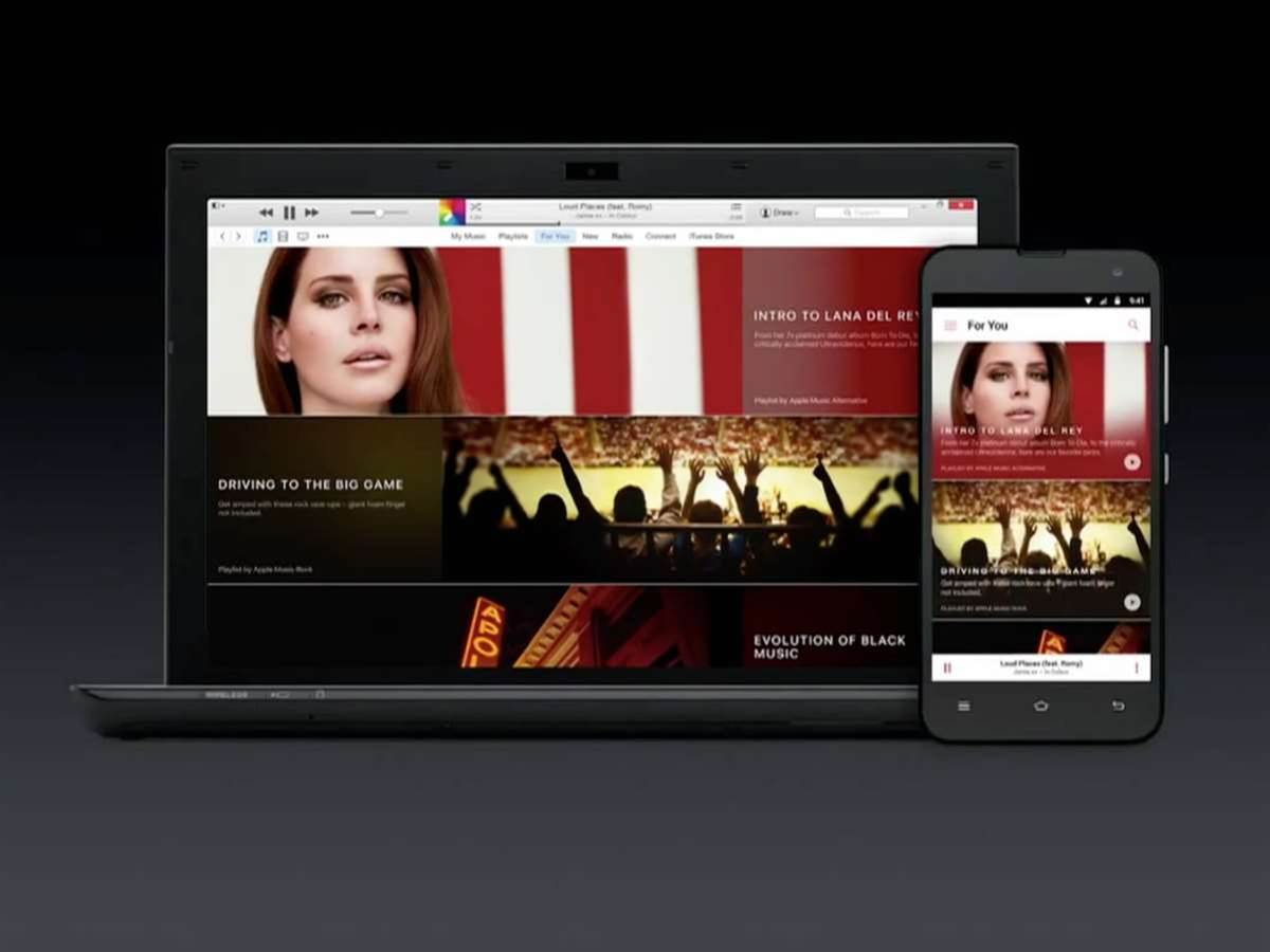 Here's what Apple Music looks like on Android