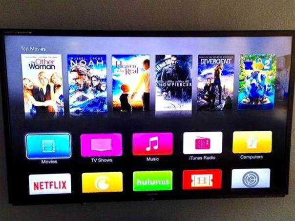 Apple TV beta gets new interface