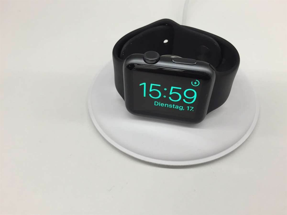 Official Apple Watch dock leaked