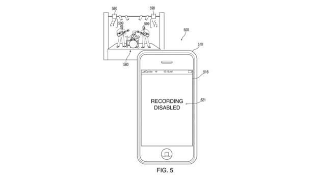 Apple wants to stop you filming concerts on your phone, and it has a plan to stop you