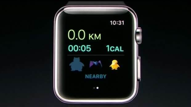 Pokemon Go is coming to your wrist via Apple Watch