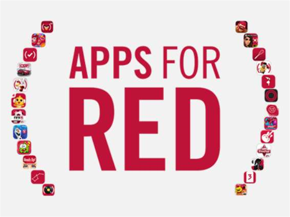 Apple sees (Red) with the biggest names in apps