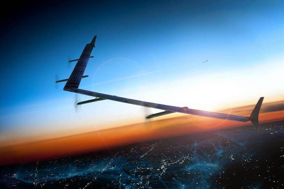 Facebook to build solar-powered drones for internet access
