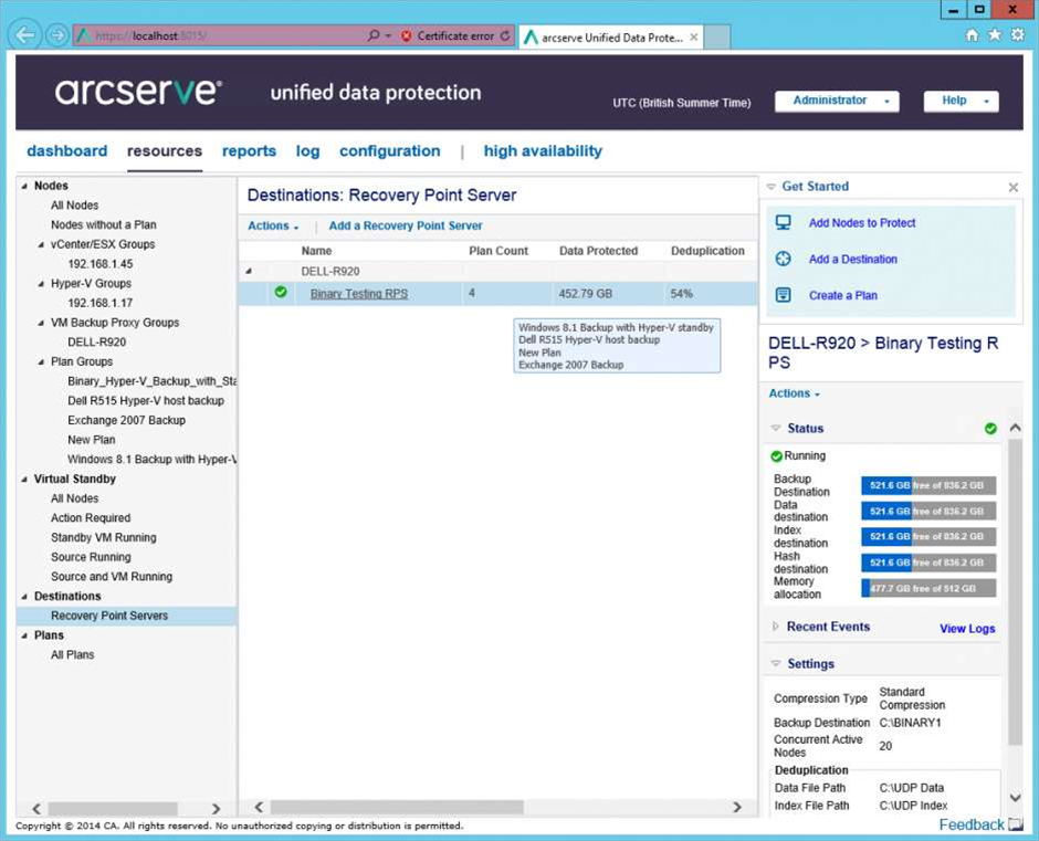Review: Arcserve UDP