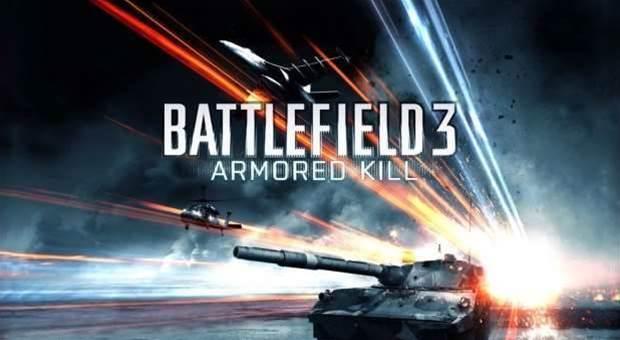 Battlefield 3: Armoured Kill available now... ish