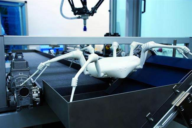 3D Printed Spider Robot Designed To Rescue You