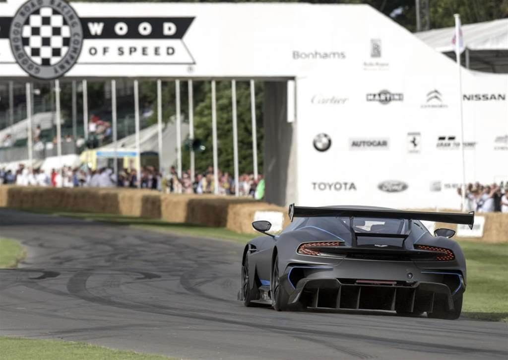 Aston Martin Vulcan Will Race Tomorrow
