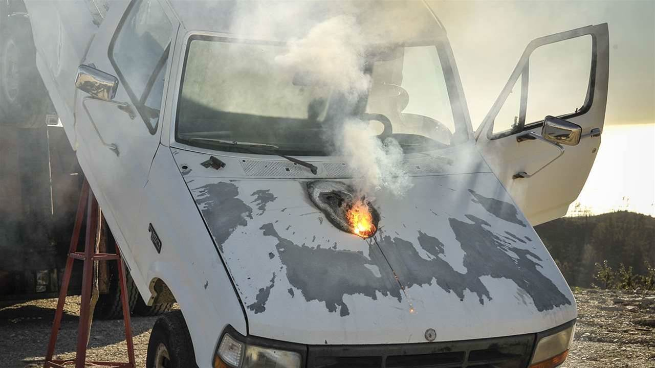 Lockheed Laser Destroys A Truck From A Mile Away
