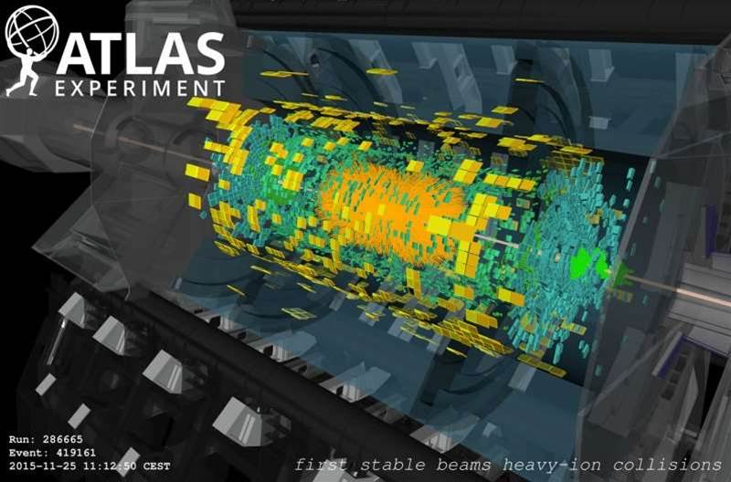 LHC Re-creates First Moments Of The Universe And Sets New Energy Record