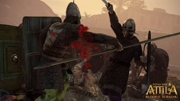 Blood, vomiting, and new factions in Total War: Attila DLC