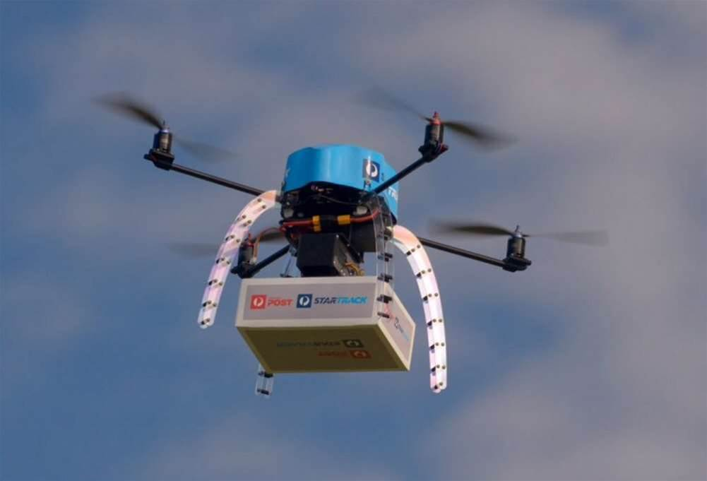 Australia Post trials parcel delivery by drone