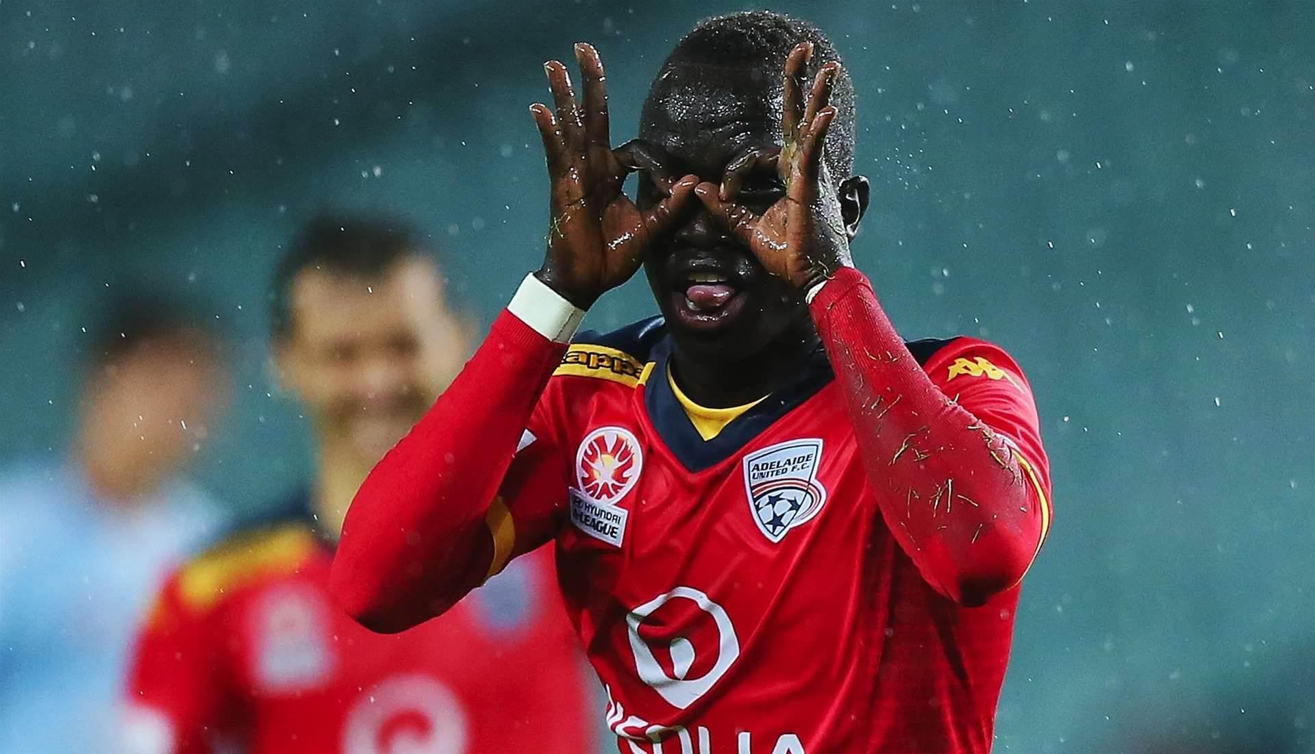 Mabil scores against parent club