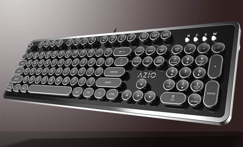 Azio keyboard makes the mundane memorable