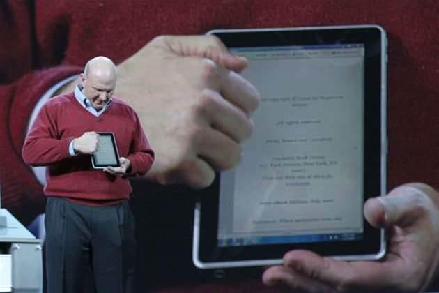 Ballmer spills Windows 8 due in 2012