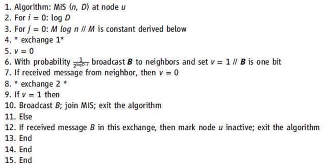 MIS selection algorithm