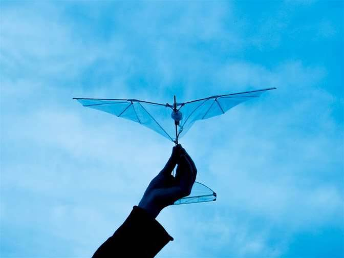 Folding Wings Help Drones Bounce Back After A Crash