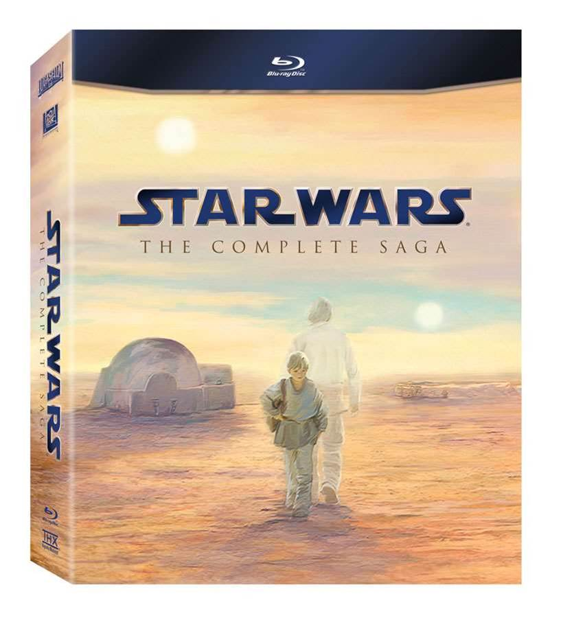 """Star Wars: The Complete Saga"" revealed on Blu-ray"