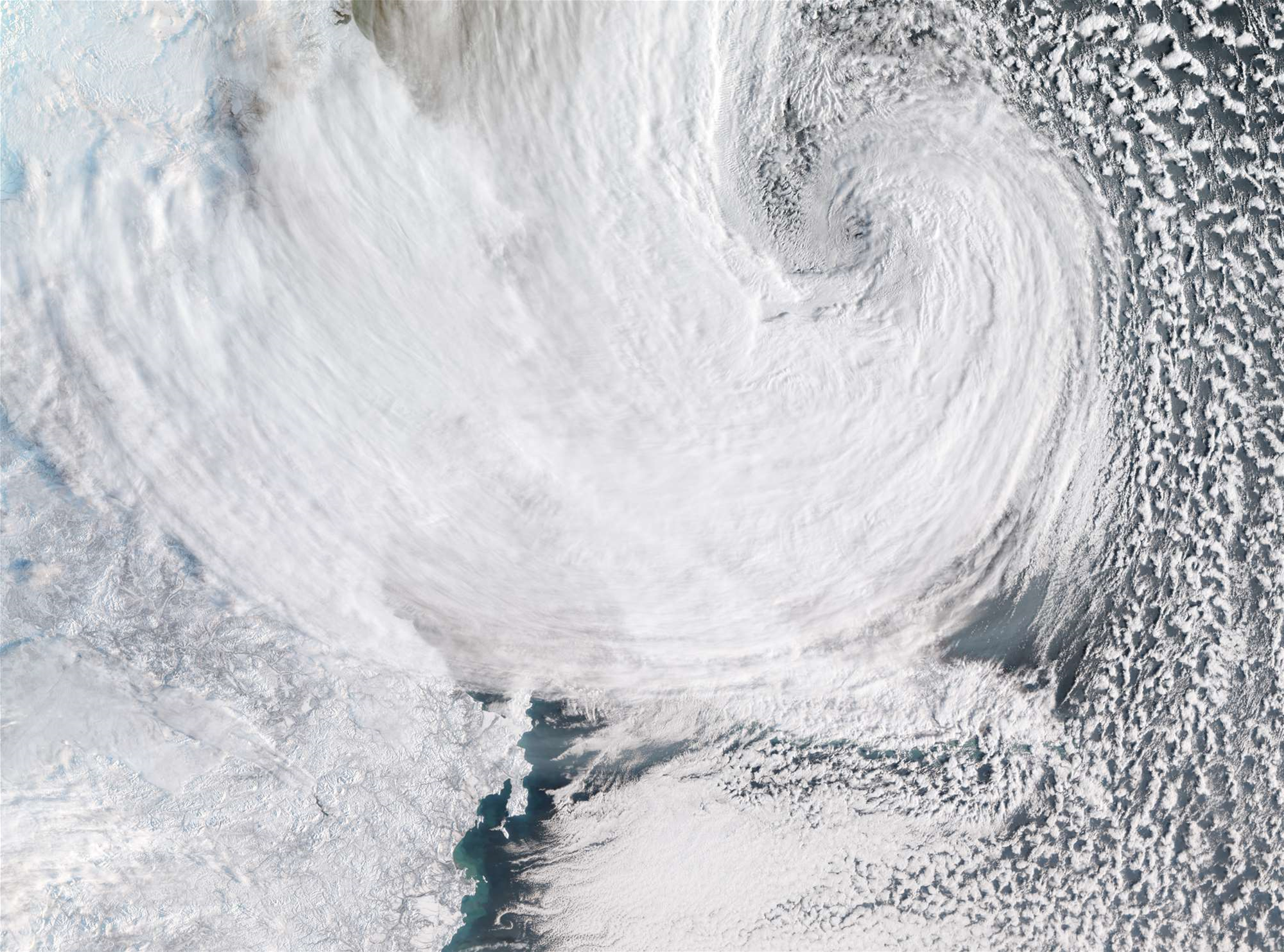 Blame This Arctic Superstorm For Brutal US Winter Weather