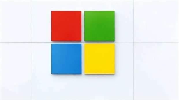 Microsoft debuts new logo