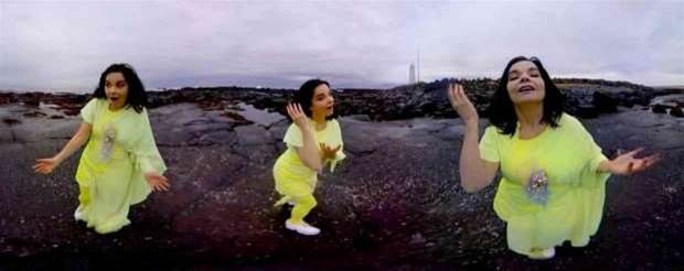 Now you can experience Bjork's mind-bending music with a VR backdrop