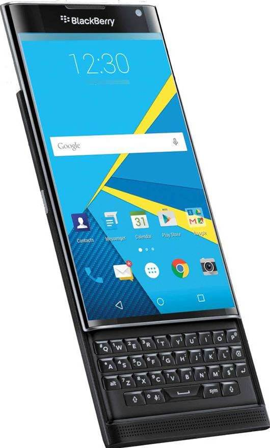 BlackBerry debuts Priv Android phone