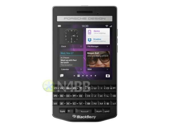 Porsche Design BlackBerry P'9983 leaks