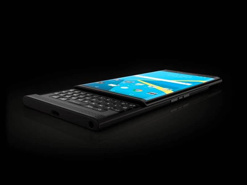 Keyboard fans can now pre-order the Android-powered BlackBerry Priv