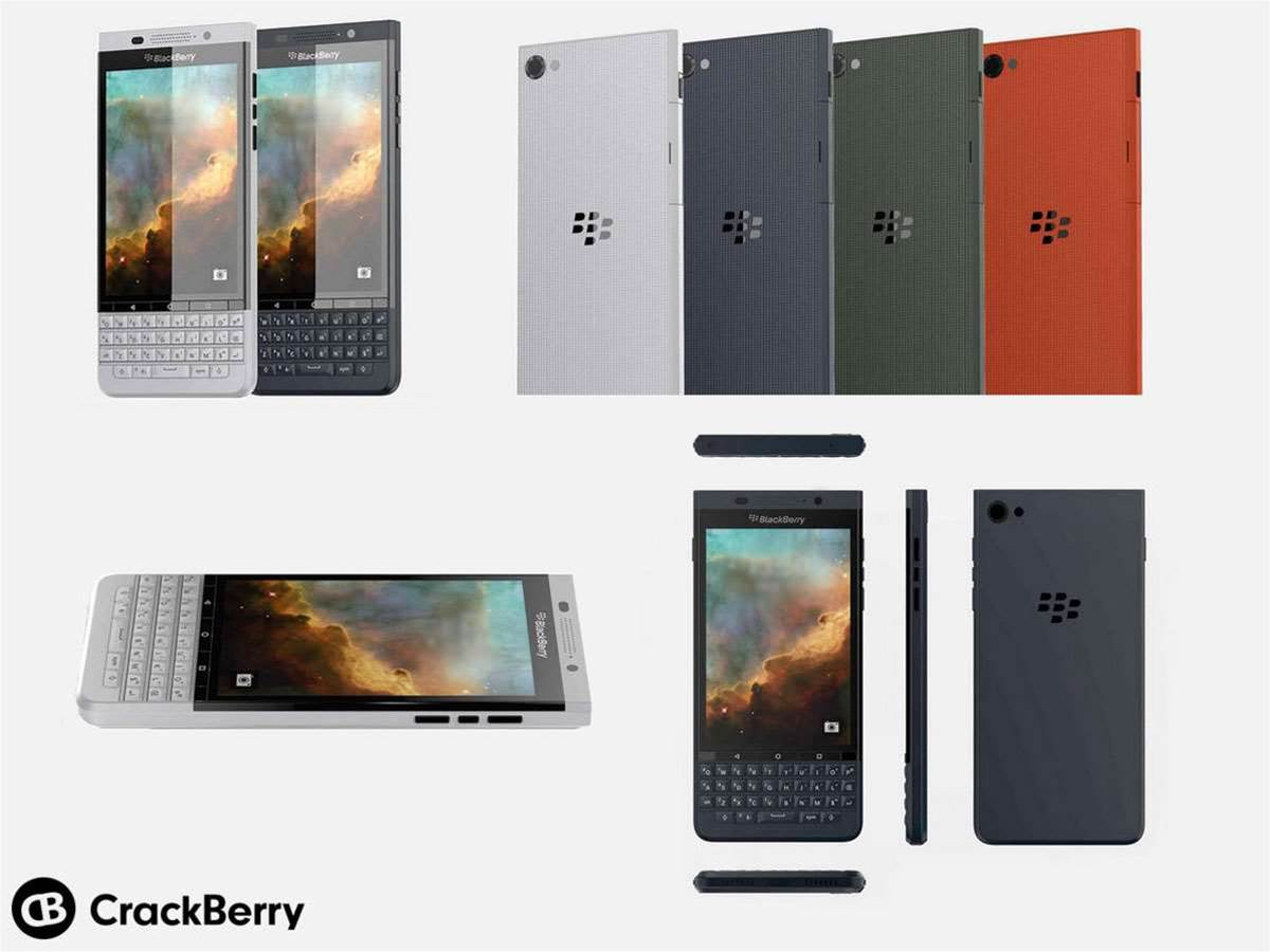 New Android-powered BlackBerry breaks cover