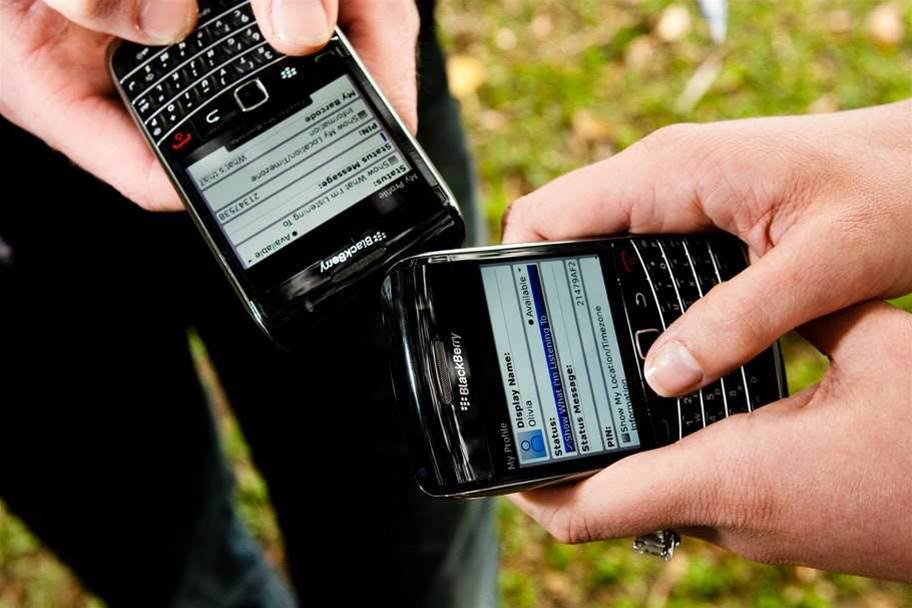 US agency shifts from BlackBerry