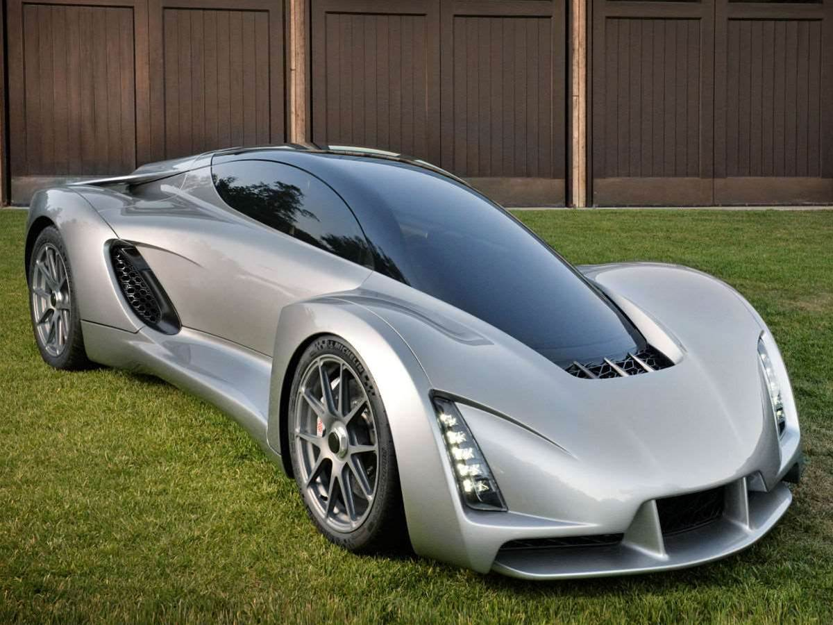 Meet the world's first 3D-printed supercar