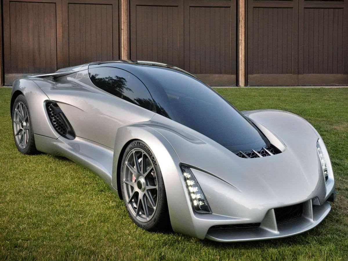 Meet the world's first 3D-printed supercar