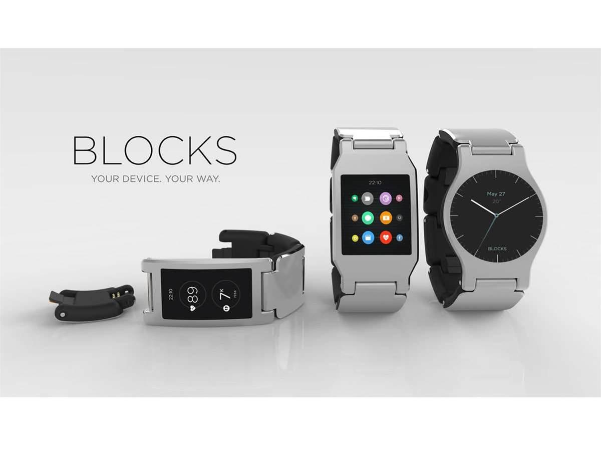 Modular smartwatch Blocks will launch this summer