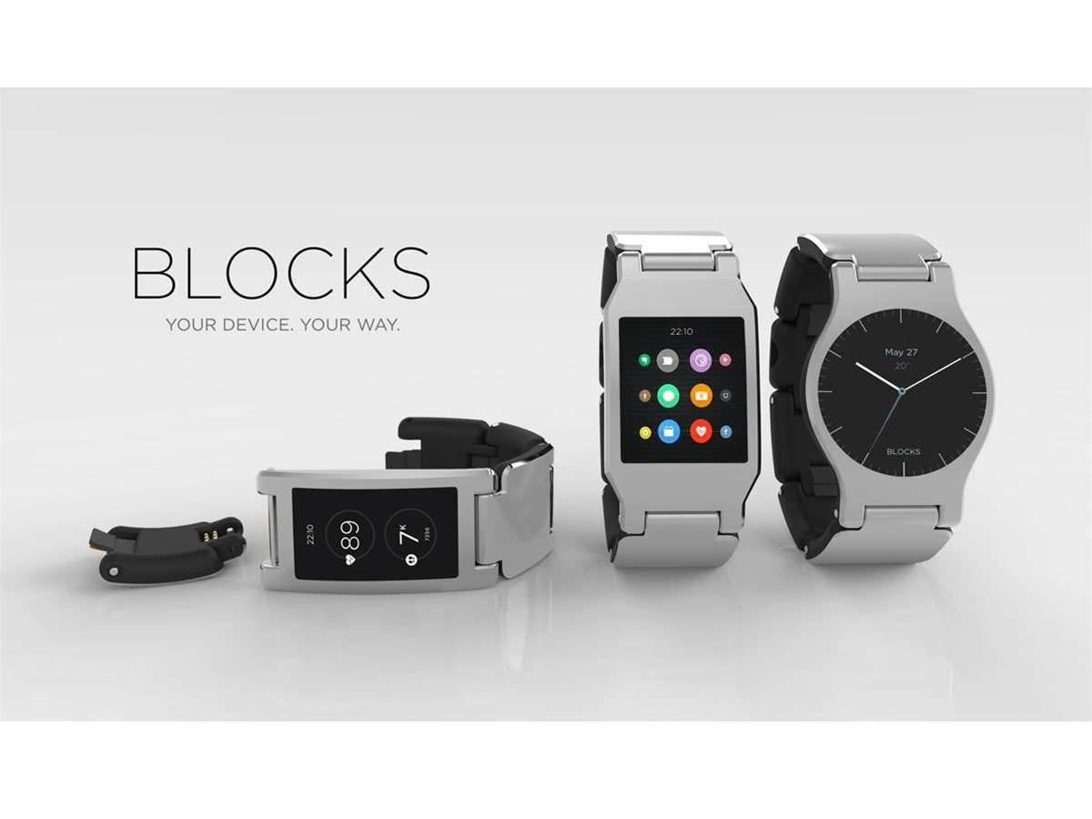 Modular smartwatch Blocks will launch this summer