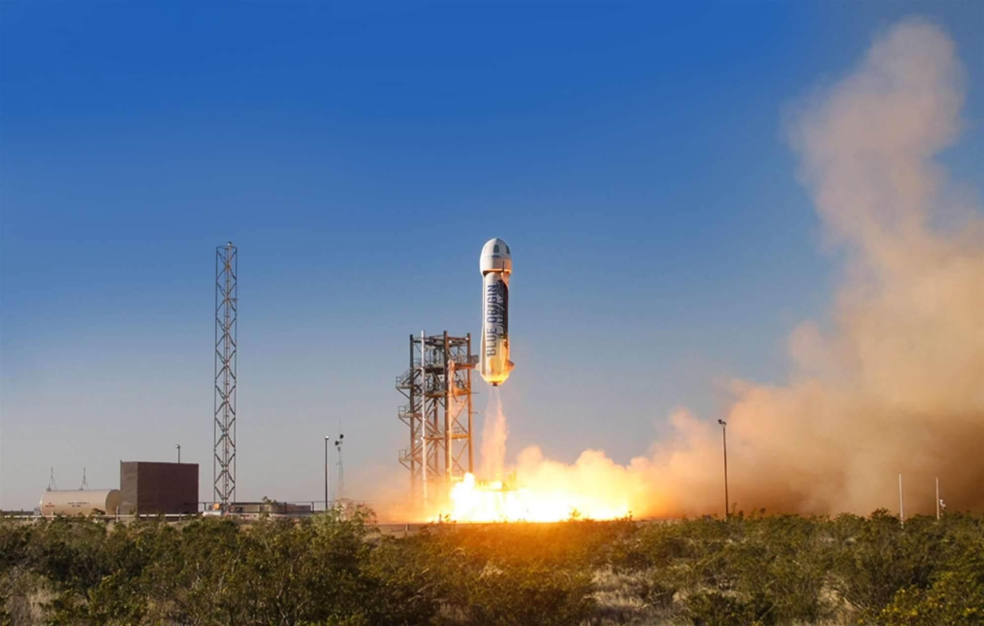 Blue Origin's Rocket Flies 58 Miles High [Video]